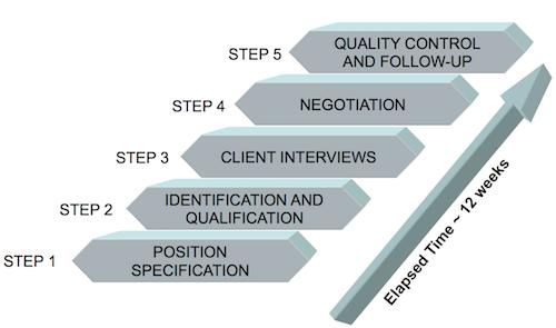Ashton Tweed's Five-step Search Process